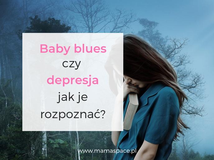 baby blues depresja poporodowa